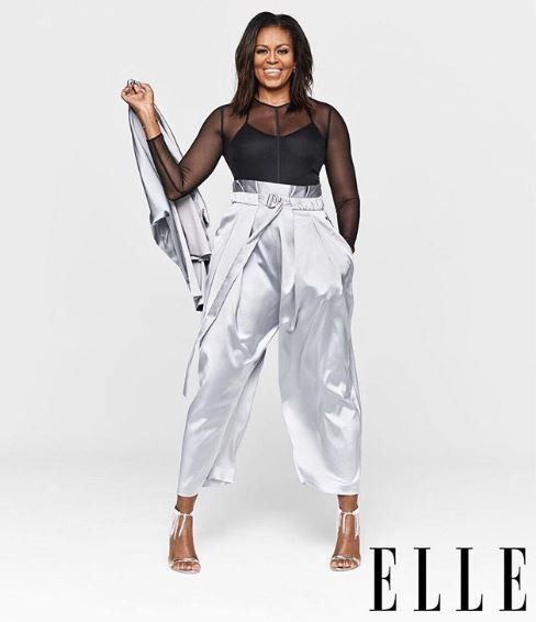 Oprah Winfrey interviews Michelle Obama as she covers the December edition of Elle Magazine (Photos)
