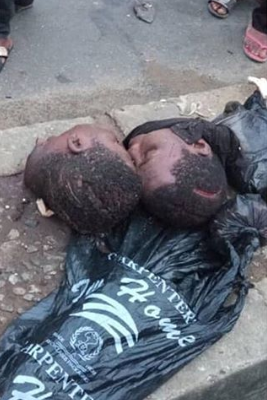 Two young men beheaded by alleged cultists in Rivers state (graphic photos)