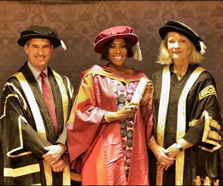 Mo Abudu bags honorary Doctor of Arts degree from the University of Westminster