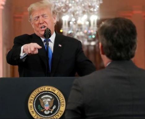 CNN files a lawsuit against President Trump and top aides for banning reporter. Jim Acosta from the White House