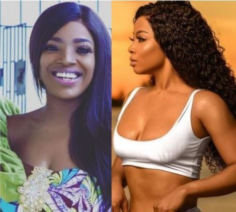 [Beware] 'If I no FInd Husband in One Year, I'm Coming to Share Yours' - Toke Makinwa to Annie Idibia