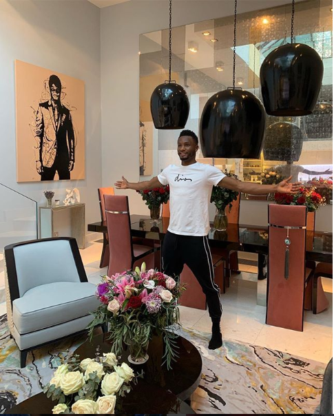 Mikel Obi shares a glimpse of the stunning interior decor in his home (Photo)
