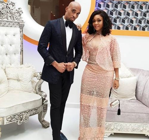'My favorite and best accessory' - Billionaire wife, Fifi Umenyiora celebrates her husband, Dilly on his 40th birthday