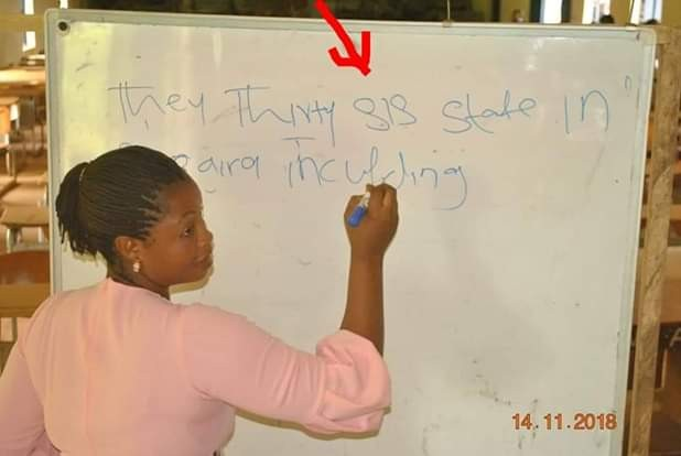 Photos: Choi! See what applicants wrote during Cross River State SUBEB Primary School Teachers