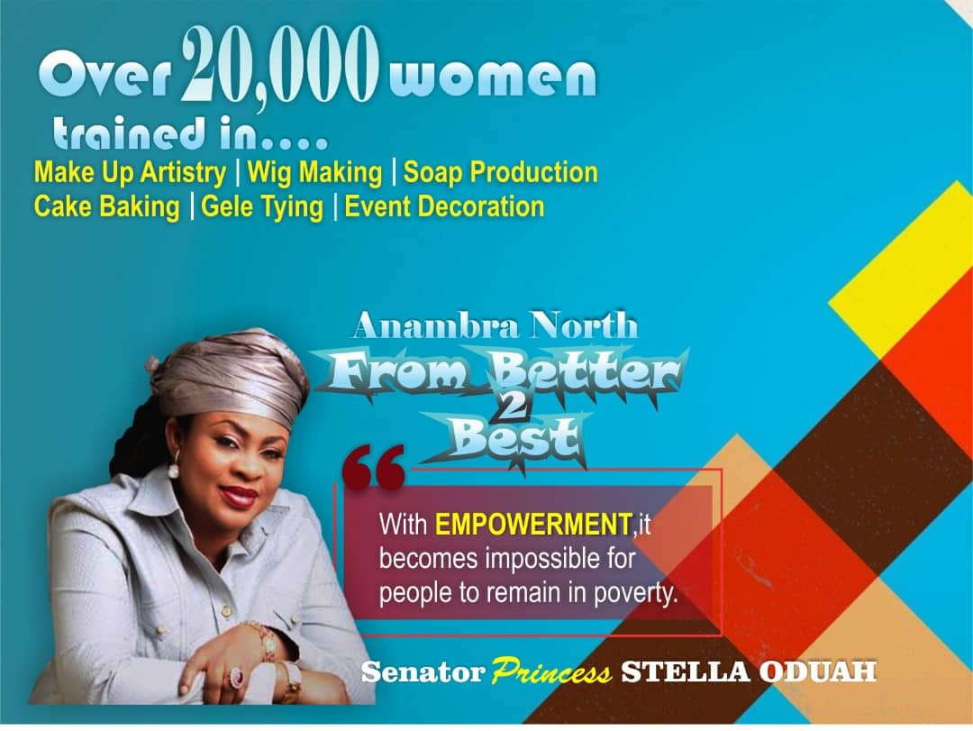 Senator Stella Oduah to empower over 800 men on Information Technology free in Anambra