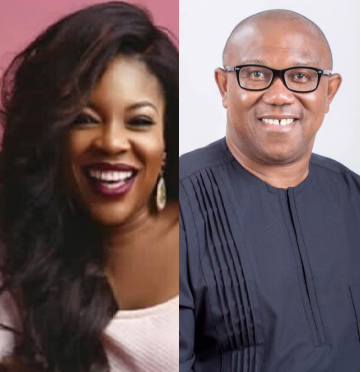 Peter Obi responds to Kemi Adetiba after she narrated her horrifying experience at the Lagos airport