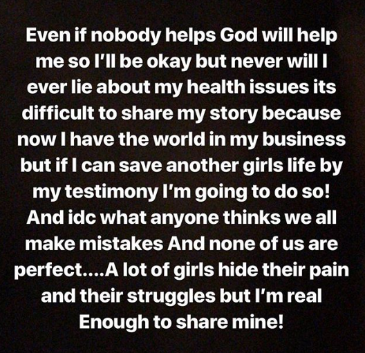 """""""Love yourself"""" Instagram model cries and warns women as she begins to suffer complications from her butt injections (video)"""