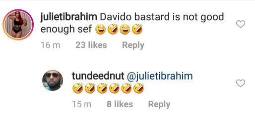 Lol. See Davido