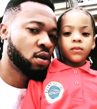 Adorable video of Flavour and his daughter, Sophia speaking Igbo