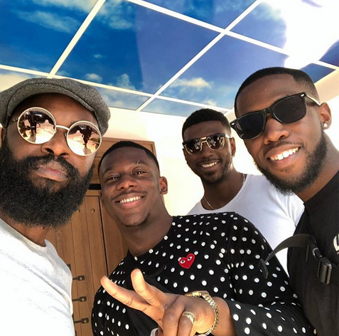 Photos: Popular Kupe Boys arrive Nigeria for show in Abuja