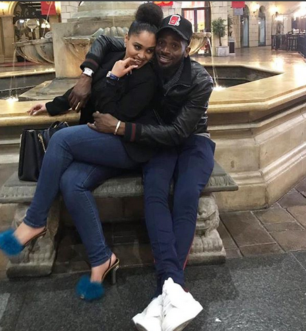 Image result for pictures of D'banj and his wife