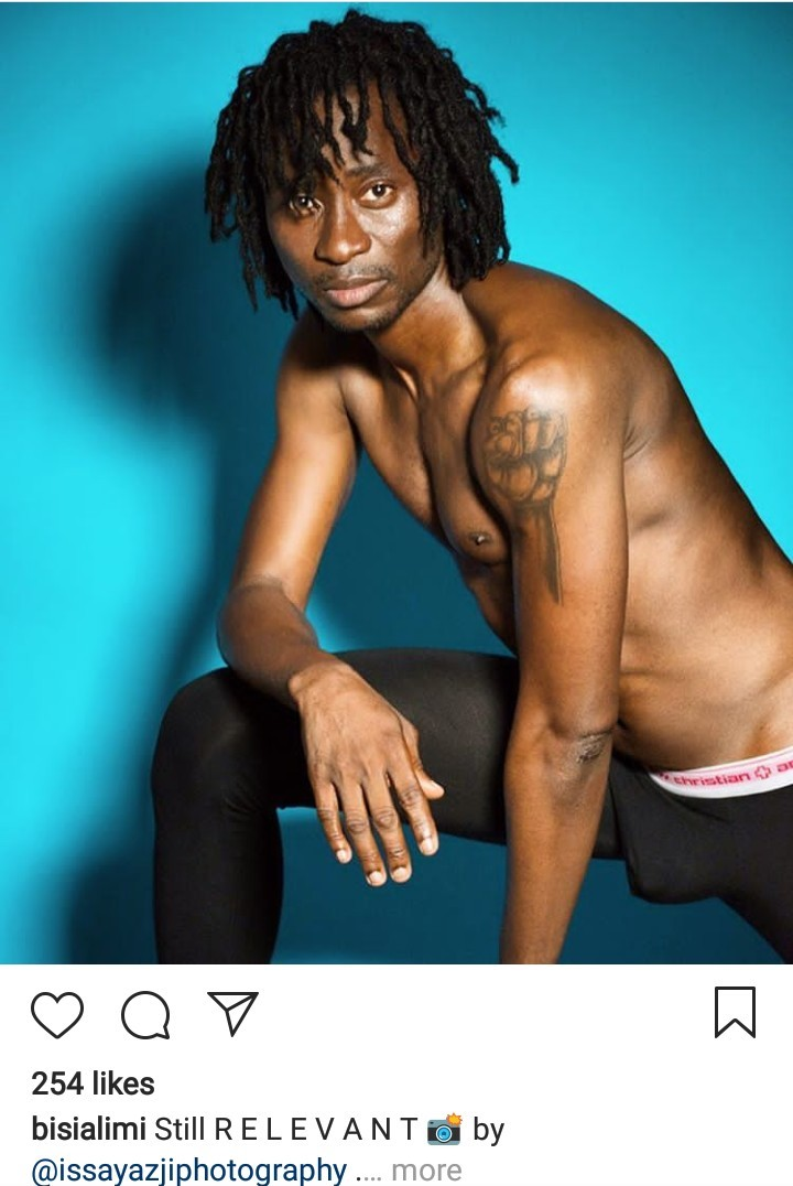 Bisi Alimi is on a mission to break the internet as he releases scandalous photos