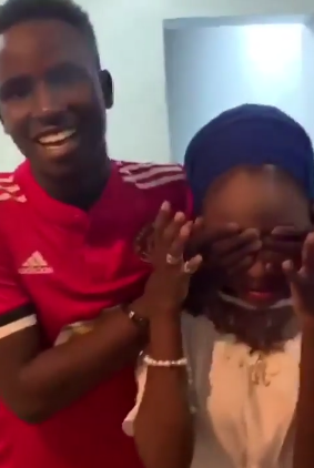 Video: 19 year old student surprises his 16-year-old girlfriend with a Benz, iWatch and Iphone X Max in Abuja