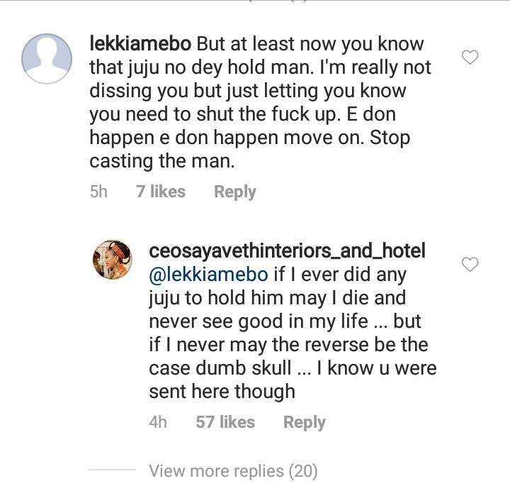 """If I ever did any juju to hold him may I die, if not..."" Ehi Ogbebor swears her hands are clean and her billionaire husband was the fetish one"