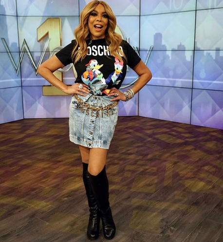 US commuters, including Wendy Williams, stuck in traffic for hours due to heavy snow (screenshot)