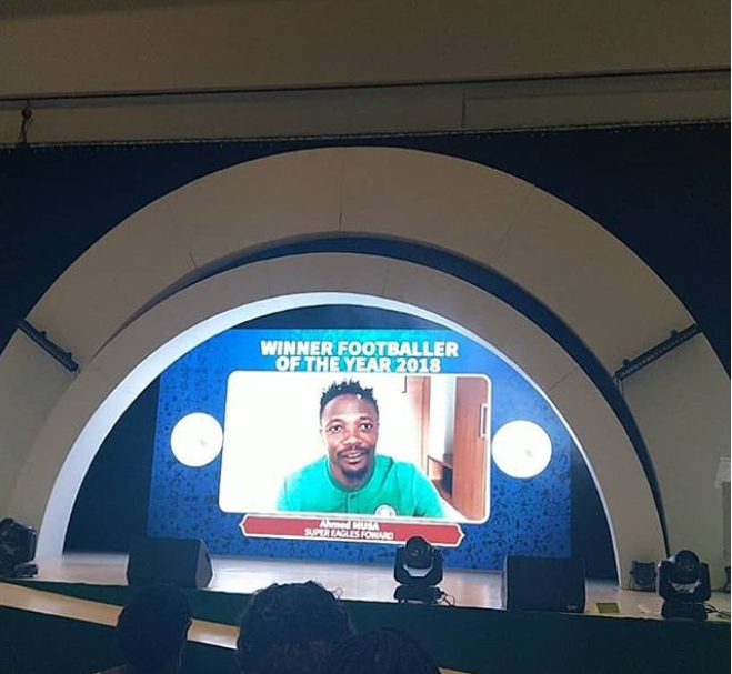 Ahmed Musa crowned Nigerian Footballer of the Year 2018
