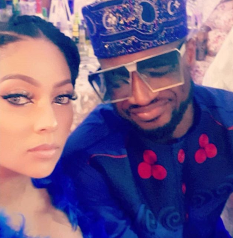 ''I am blessed to have a husband who will take a bullet for me any day''- Lola Omotayo tells Peter Okoye on their 5th wedding anniversary 3