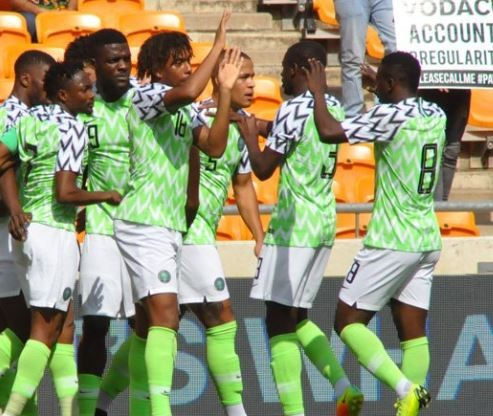 Nigerian Super Eagles qualify for 2019 AFCON after a 1 - 1 draw with South Africa