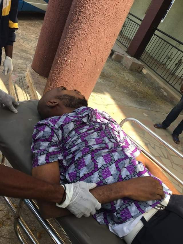Photos: Prospective Corps member slumps, hits head on stone and dies shortly after collecting call-up letter