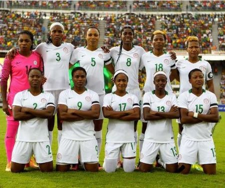 Nigeria's�Super Falcons�lose their opening match to South Africa at the 2018 AWCON