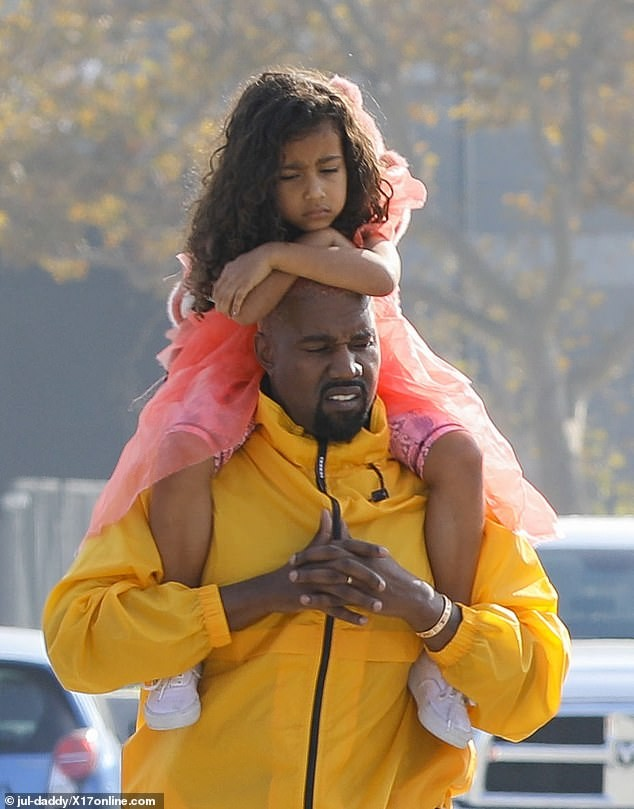 Kanye West and North share beautiful daddy-daughter time during museum tour (photos)