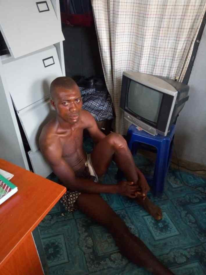 Photo: Paedophile breaks into a house in Calabar in the absence of the owners and raped their 7-year-old daughter