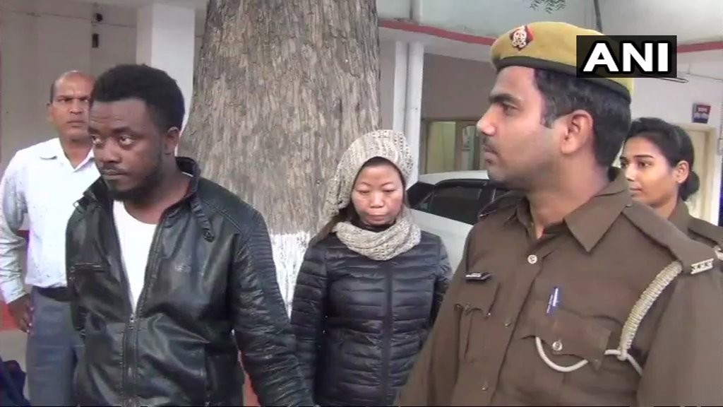 Photos: Nigerian national arrested in India for duping people via Facebook