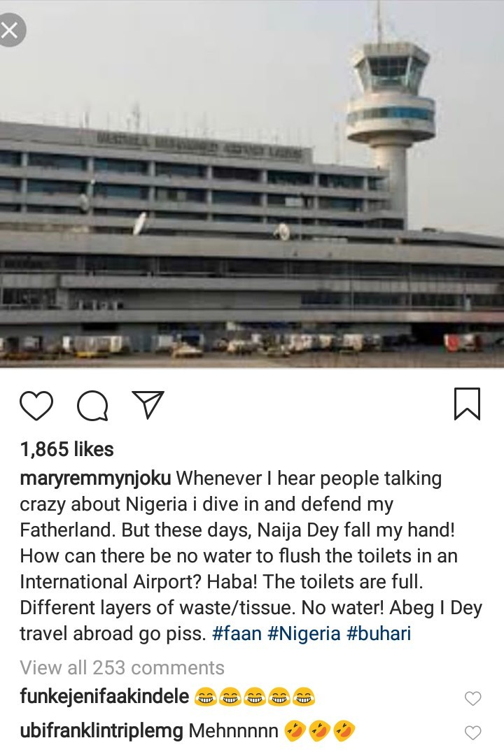 """The toilets are full, no water to flush"" Mary Remmy Njoku exposes what"