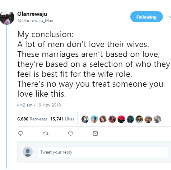 Love wives their men why Why Do