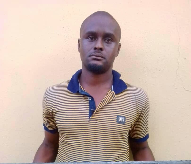 Photo: Father arrested for defiling his 2-year-old daughter