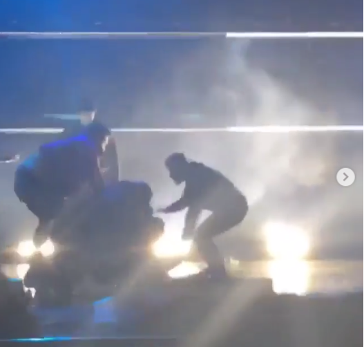 Watch the moment Pusha T was attacked at his Toronto show (Videos)