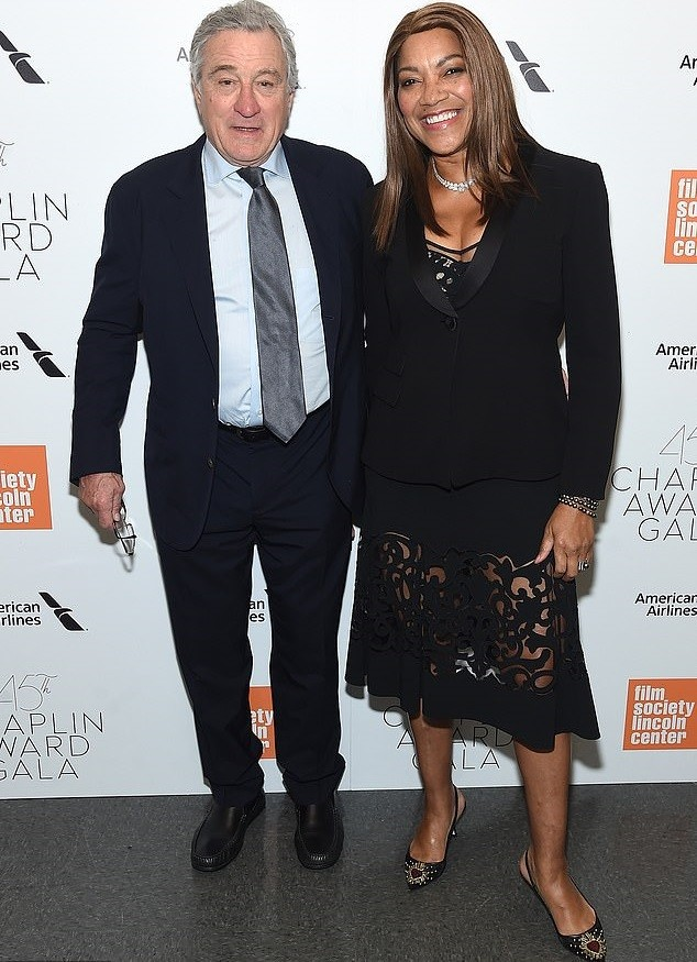 Actor Robert De Niro, 75, splits with his wife Grace Hightower, 63, after more than 20 years of marriage