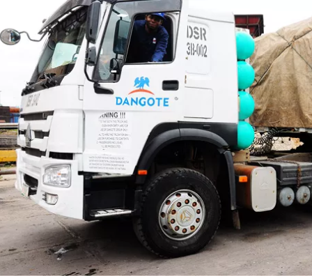 Dangote Group offers N250K to any member of the public who reports erring Dangote truck drivers