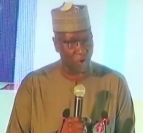 Video: SGF Boss Mustapha throws jab at PDP while speaking at GEJ