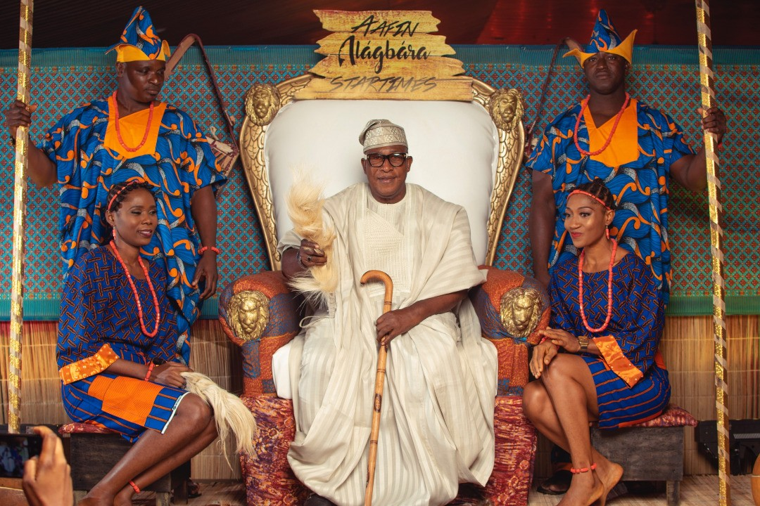 Photos from the star-studded premiere of Oga Bello?s Alagbara series