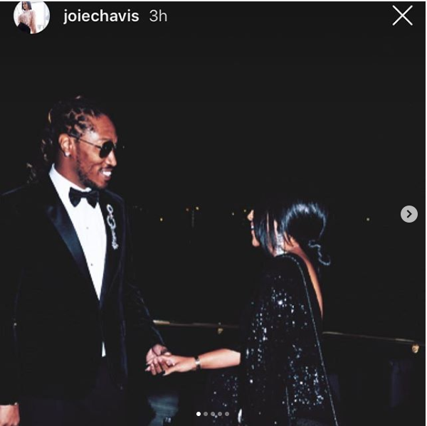 Future celebrated his birthday with his babymama Joie Chavis, and his other babymama Brittni Mealy responds (Photos)