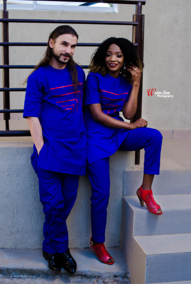 American man who proposed to his Nigerian girlfriend the first time they met at the airport is set to marry her less than one week after (prewedding photos)