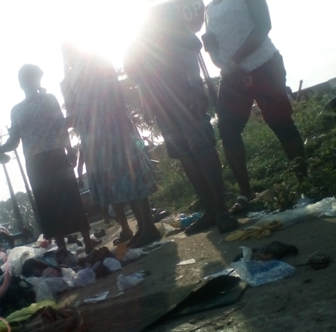 Newborn baby found dumped in refuse site in Calabar (photos)