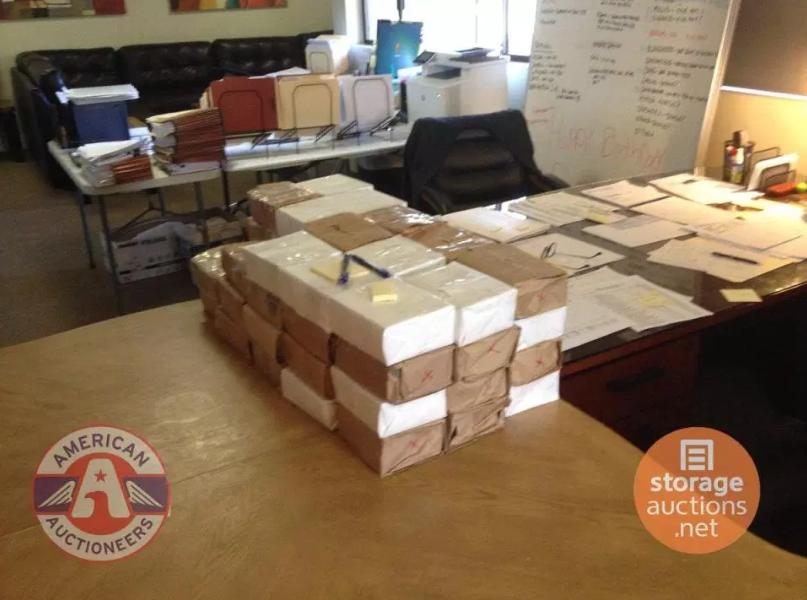 Man finds ?5.8 million cash inside a second-hand storage unit bought at auction