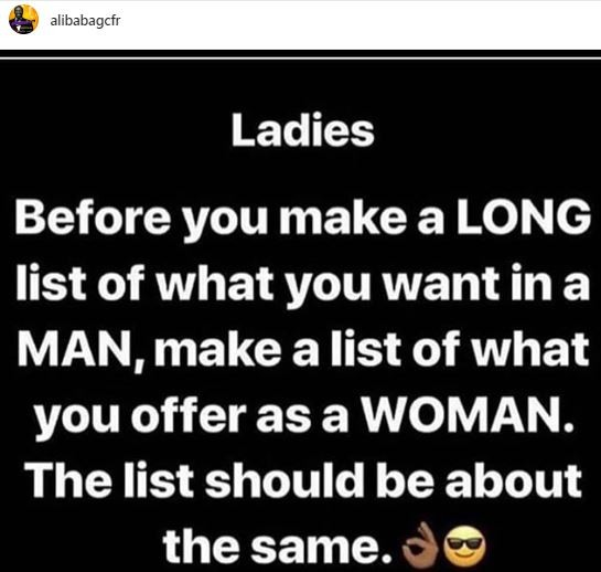 what you want in a woman