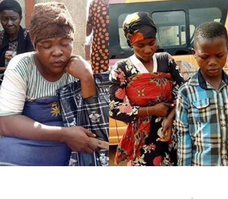 Police arrests fake blind beggars using rented school?kids in Anambra State (Photos)