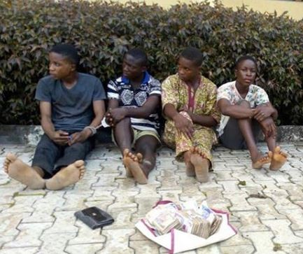 Three brothers arrested for kidnapping their church member?s daughter in Ondo State