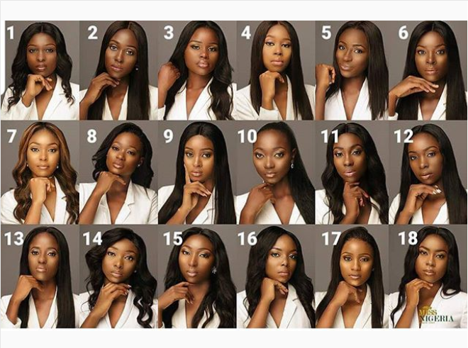 Miss Nigeria 2018 holds tomorrow and these are the 18 lovely women contesting for the prestigious title