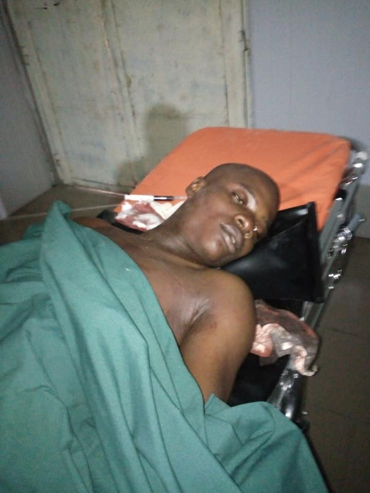 Graphic: Niger Delta University student killed by trigger happy police officer. His mum attempts to take her life