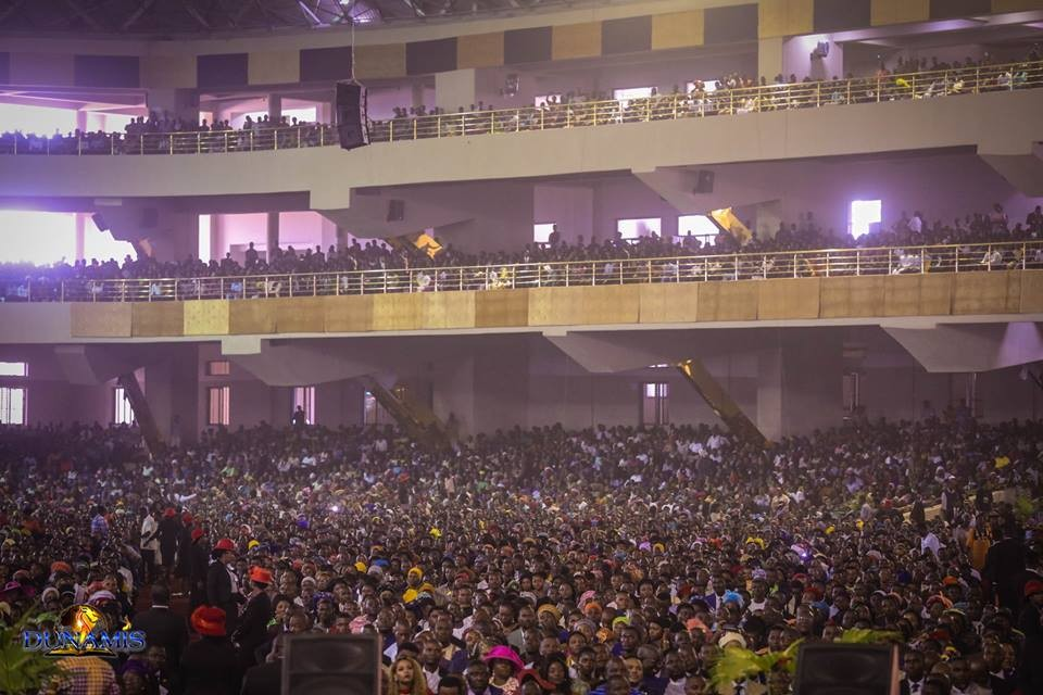 Photos: Largest church auditorium in the world dedicated in Abuja