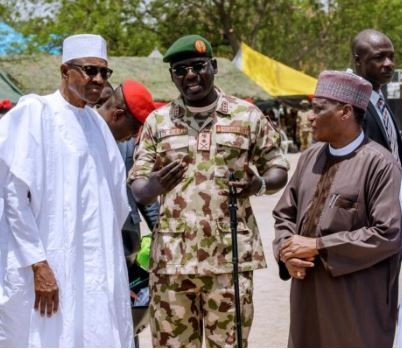 No responsible Commander-in-Chief would?fold his hands to allow terrorists to endanger the lives of its military personnel - President Buhari