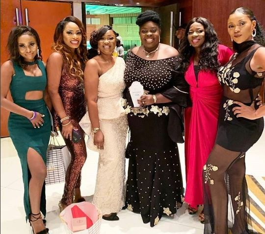 Ini Edo, Toyin Abraham, Ceec: Check out 20 stunning outfits celebs rocked to the 2018 ELOY Awards