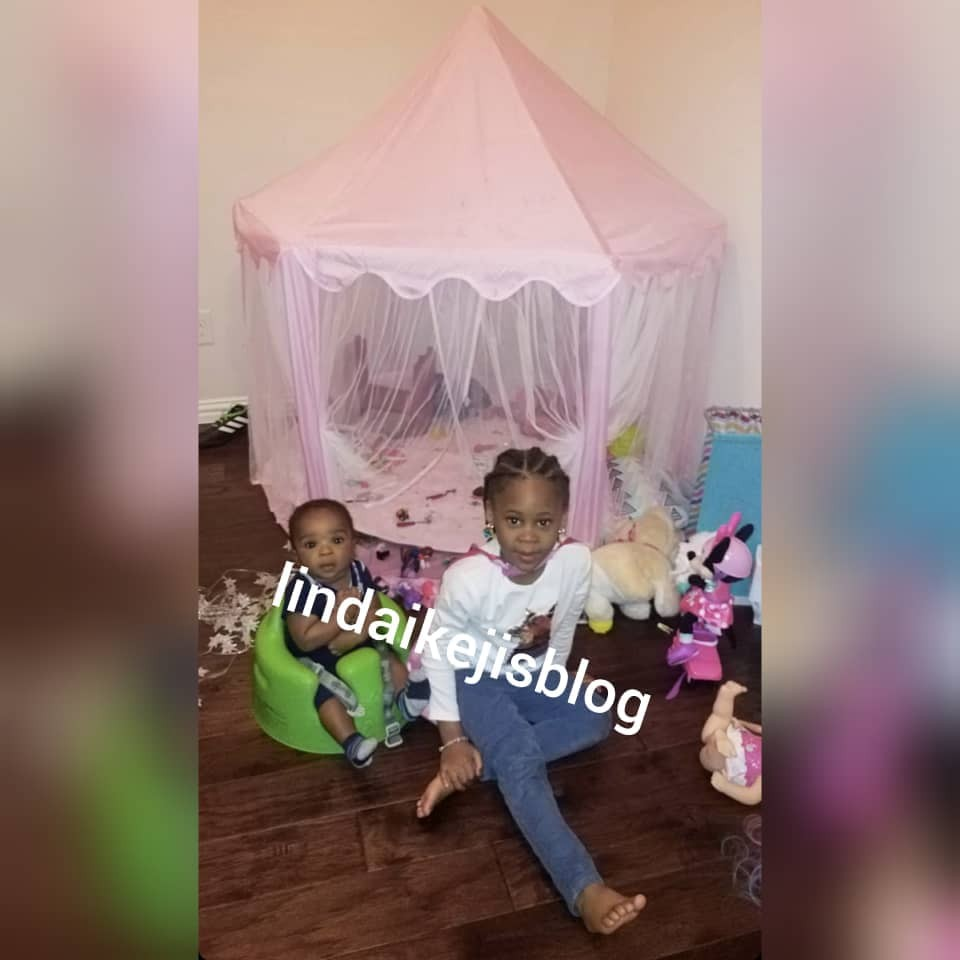 Singer, Flavour and Sandra Okagbue, welcomed a son few months ago + see photo of the boy