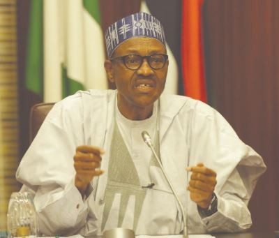 Its unacceptable for APC forbid aggrieved�members from dragging the party to court - President Buhari