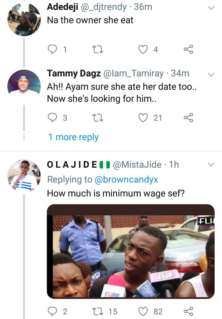 Lady stranded after her date ditches her with N83k bill
